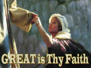 So Great Was Her Faith
