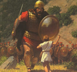 Run toward your Goliath