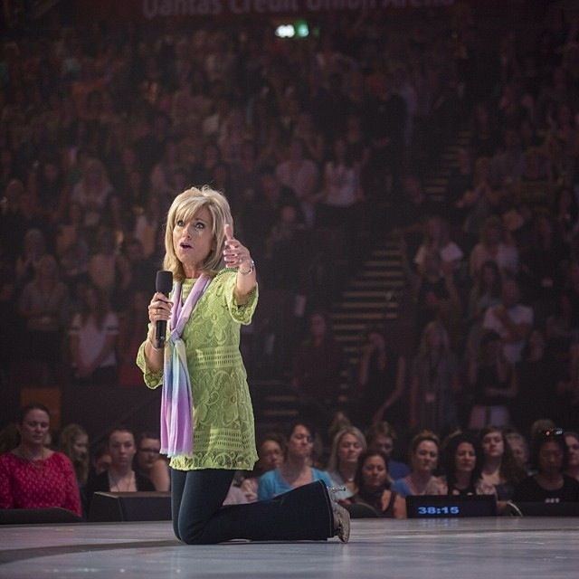 This is her stance and this is why I love this woman. Beth Moore. Beautiful.  ~ Pastor Bobbie Houston, Hillsong Church- Colour 2014 Conference
