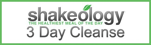 3-Day Shakeology Cleanse Day 1